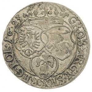 szóstak 1623, Kraków, pełna data w otoku