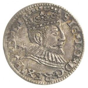 trojak 1592, Ryga, Iger R.92.1.b, Gerbaszewski 8, patyn...