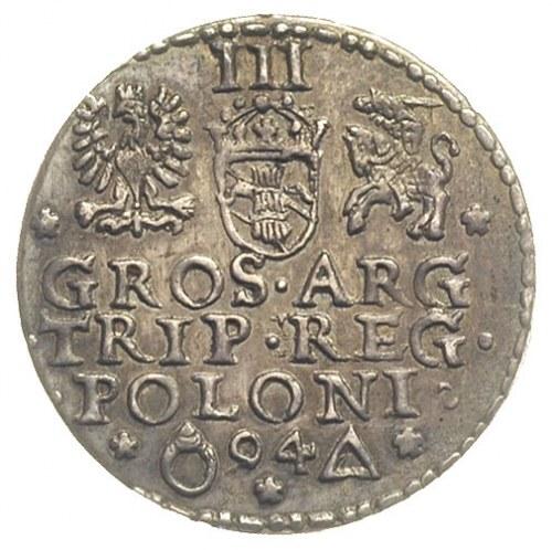 trojak 1594, Malbork, Iger M.94.1.a, patyna