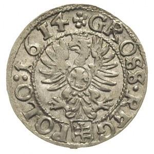 grosz 1614, Kraków, bardzo ładny