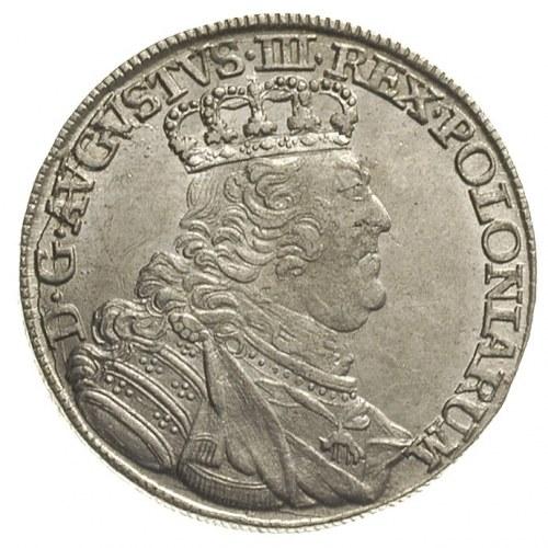 ort 1755, Lipsk, mniejsza głowa króla, Olding 479, Mers...