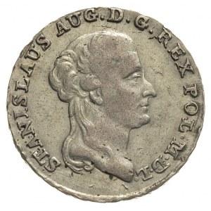 dwuzłotówka 1792, Warszawa, litery E - B, Plage 344