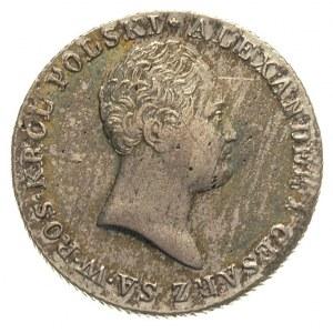 2 złote 1816, Warszawa, Plage 45, Bitkin 830, na rewers...