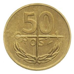 50 groszy 1974, Warszawa, mosiądz 5.25 g, Parchimowicz ...