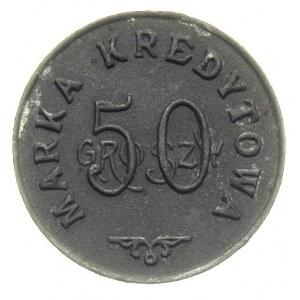 Staszów, 50 groszy Spółdzielni Wojskowej Garnizonu, cyn...