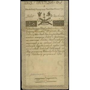 25 złotych 8.06.1794, seria B, Miłczak A3, Lucow 25a (R...