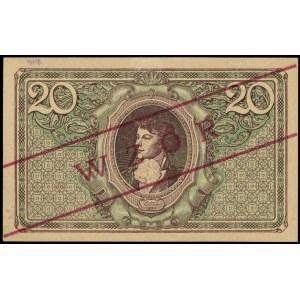 20 marek polskich 17.05.1919, WZÓR, seria ID, Miłczak 2...