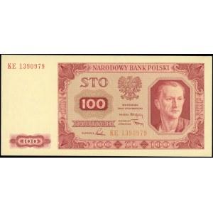 100 złotych 1.07.1948, seria KE i 500 złotych 1.07.1948...