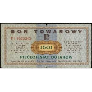 Bony Towarowe PEKAO SA, 2 x 50 dolarów 1.10.1969, serie...