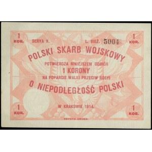 Polski Skarb Wojskowy, 1 korona na poparcie walki przec...