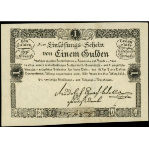 1 gulden 1.03.1811 (1 ryński), Pick A44, piękny stan, n...