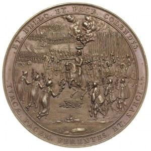 Władysław IV Waza, medal sygnowany S.D. (Sebastian Dadl...