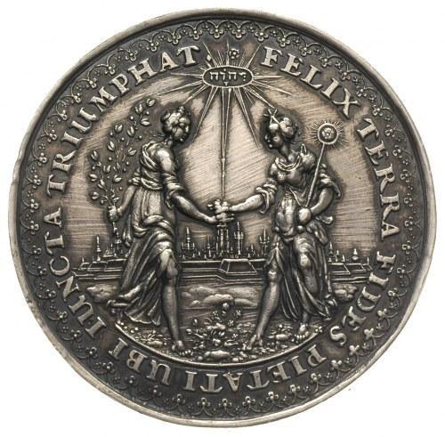 Władysław IV Waza, Błogosławieństwo Pokoju - medal auto...