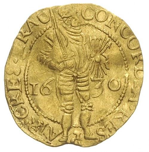 dukat 1630, złoto 3.47 g, Delm. 963, Purmer Ut24