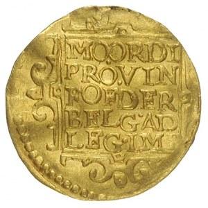 dukat 1630, złoto 3.47 g, Delm. 963, Purmer Ut24, niece...