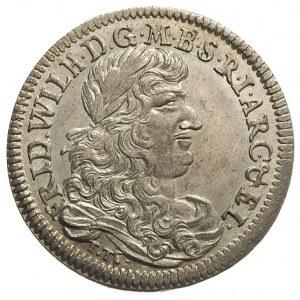 1/3 talara 1671 / TT, Królewiec, v. Schrötter 664, Neum...