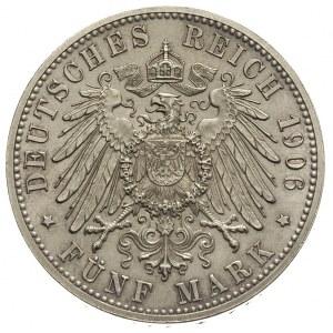 5 marek 1906, wybite z okazji 50-lecia zaślubin księcia...