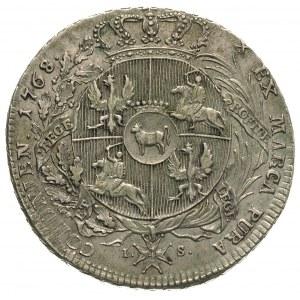 talar 1768, Warszawa, odmiana bez napisu na rancie, 27....