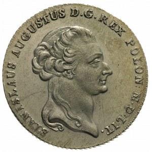 talar 1795, Warszawa, 24.15 g, Plage 374, Dav. 1623, le...
