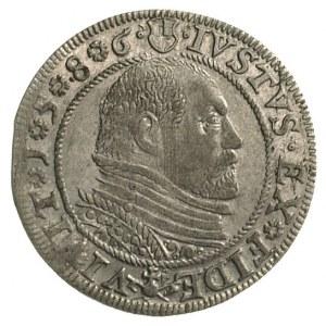 grosz 1586, Królewiec, podobny Bahr. 1280, ale bardzo c...
