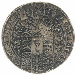 talar 1606, Aw: Półpostać księcia w prawo i napis wokoł...