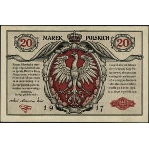 20 marek polskich 9.12.1916, \jenerał, seria A
