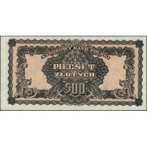 500 złotych 1944, \obowiązkowe, seria PC