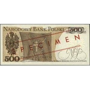 500 złotych 15.06.1976, seria AN 0000368, WZÓR Jaroszew...