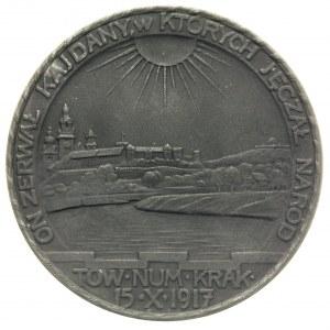Tadeusz Kościuszko- medal autorstwa Jana Wysockiego wyb...
