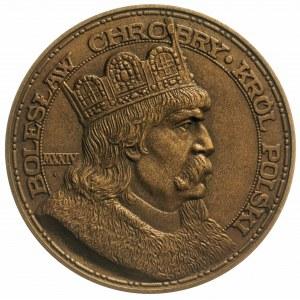 medal na 900 Rocznicę Koronacji Bolesława Chrobrego aut...