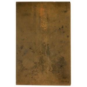 Święta Teresa -plakieta niesygnowana autorstwa S.R. Koź...