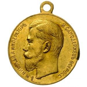 medal Za Gorliwość, złoto 24.12 g, 30 mm, Diakov 1138.3...