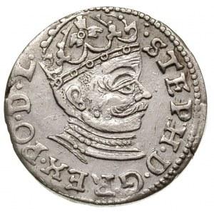 trojak 1582, Ryga, Iger R.82.1.b (R2), T. 3, Gerbaszews...