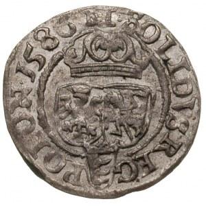 szeląg 1586, Olkusz, piękny