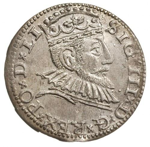 trojak 1591, Ryga, Iger R,91.1.d, Gerbaszewski 5