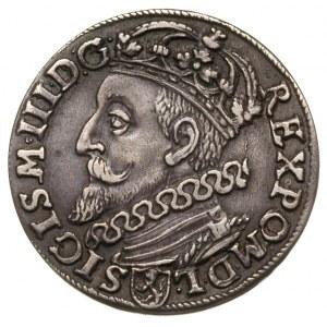 trojak 1600, Kraków, głowa króla w lewo, Iger K.00.1.b ...