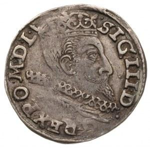 trojak 1601, Poznań, Iger P.01.1.a, patyna
