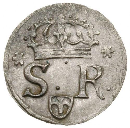 szeląg 1622, Kraków, odmiana z datą 16 - 22, bardzo ład...