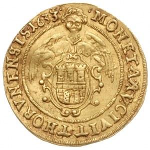dukat 1633, Toruń, Aw: Popiersie króla i napis wokoło V...