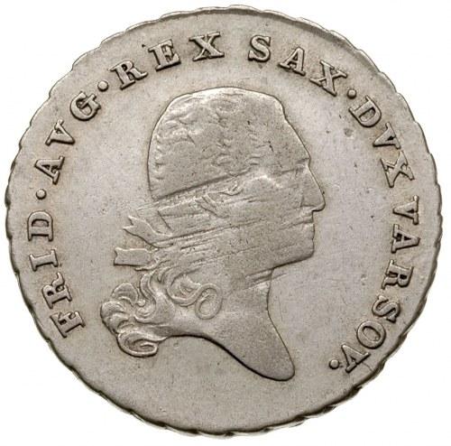 1/6 talara (złotówka) 1814, Warszawa, Plage 107, lekko ...