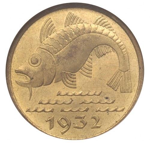 10 fenigów 1932, Berlin, Dorsz, Parchimowicz 58, moneta...