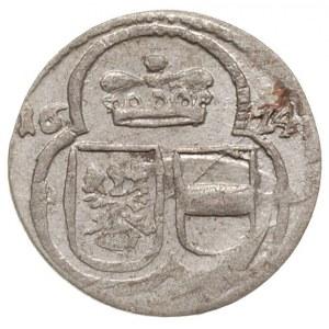 1/2 krajcara jednostronne 1624, mennica nieokreślona, F...