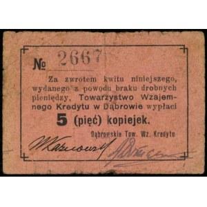 Dąbrowa Górnicza, Dąbrowskie Towarzystwo Wzajemnego Kre...