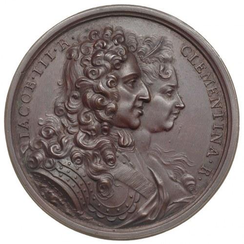 Klementyna Sobieska -wnuczka Jana III i żona Jakuba Stu...