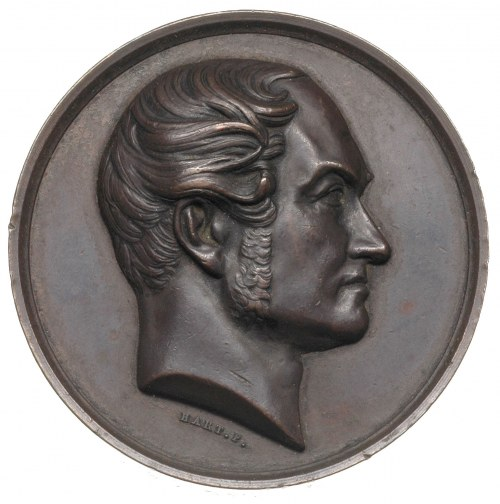Józef de Köhler -medal autorstwa Harta na piętnastoleci...
