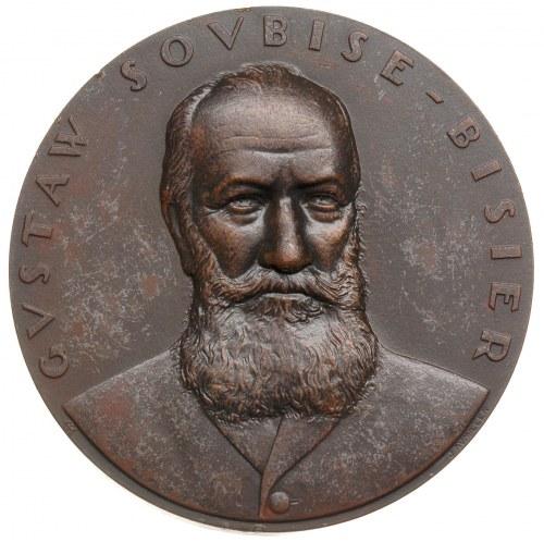 Gustaw Soubise-Bisier -medal projektu J. Aumillera 1929...