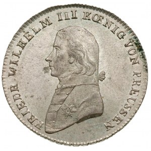 1/3 talara 1802/A, Berlin, litera L na odcięciu ramieni...
