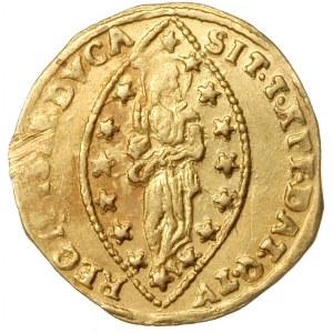 cekin, bez daty, złoto 3.46 g, Fr. 1445, Gamberini 1926...