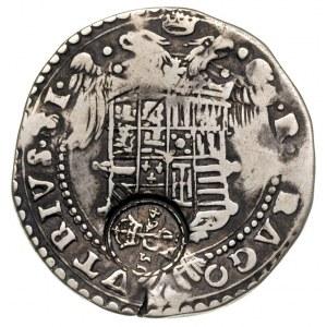 złoty polski (30 groszy) kontrasygnowany w 1564 r. na p...