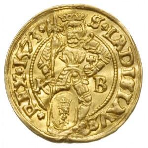 dukat węgierski 1573 Maksymiliana II z mennicy Krzemnic...